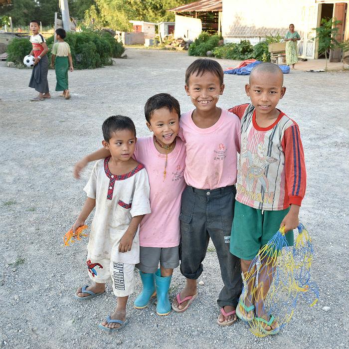 boys at sasana orphanage - children do matter