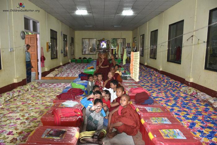 dormitory 2 with mattresses sasana orphanage myanmar - children do matter